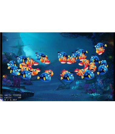 cocos2dx手机3D捕鱼达人游戏源码