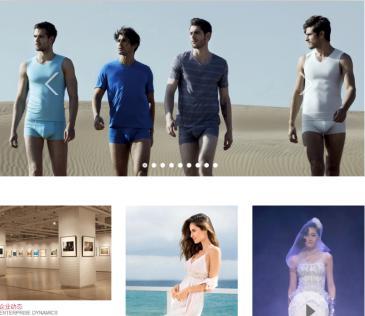 高档服装设计定制外贸网站织梦源码